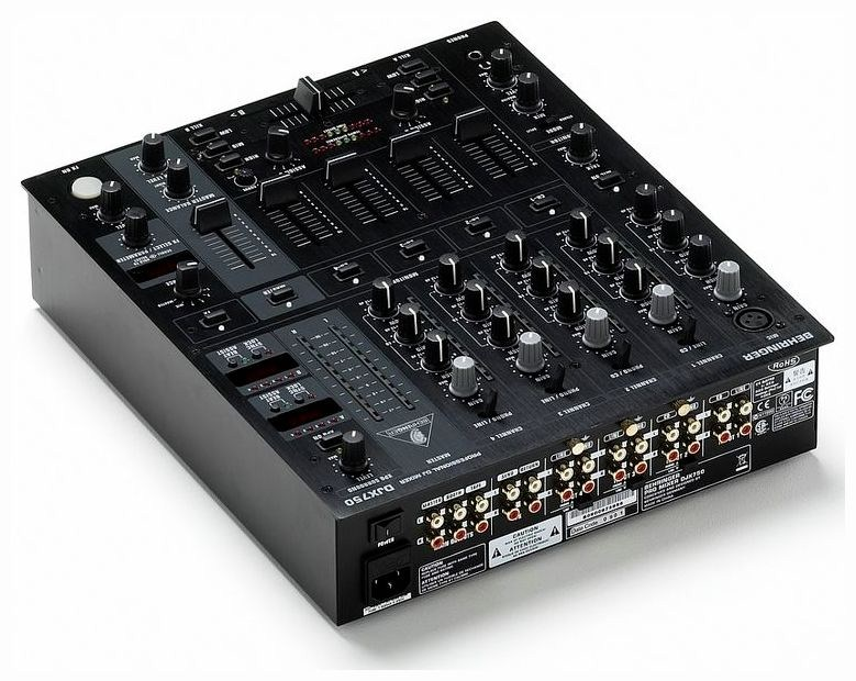 Table de mixage djx750 behringer - Table de mixage behringer ...