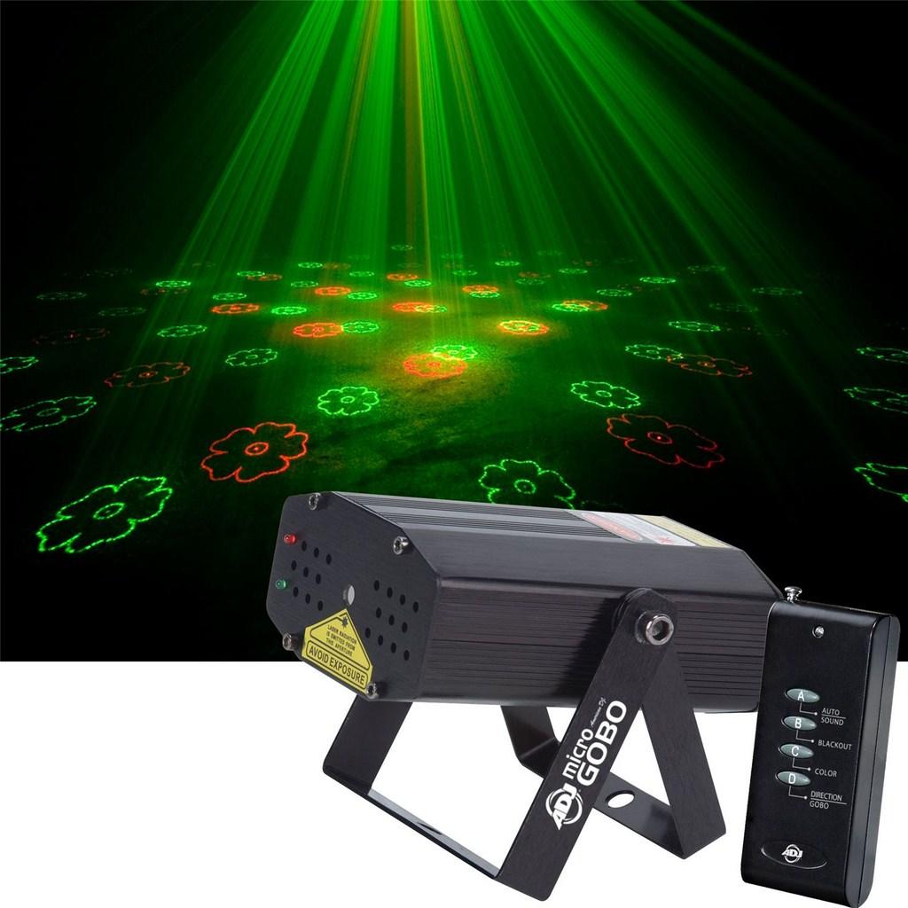 Laser D Co Micro Gobo 110mw American Dj