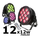 location par led 12x12w rgbwa uv